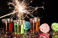 ` S Eve Нового Года стоковая фотография rf
