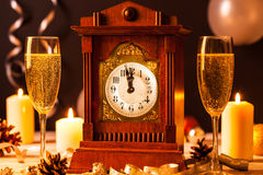 ` S Eve Нового Года Стоковое фото RF