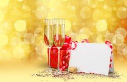 ` S Eve del Año Nuevo Imagen de archivo libre de regalías