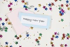 ` S Eve del Año Nuevo Imagen de archivo