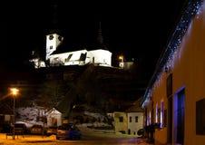 ` S Eve del Año Nuevo en Spania Dolina Fotos de archivo