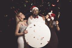 ` S Eve Party de nouvelle année Photographie stock libre de droits