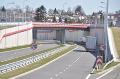 S17 expressway Stock Image