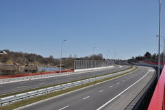 S17 expressway Royalty Free Stock Images