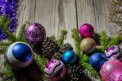 ` S för nytt år och jul 14 Arkivfoton