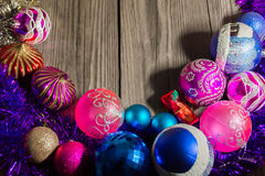 ` S för nytt år och jul 18 Arkivbilder