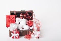 ` S för nytt år och julgarnering Arkivfoto
