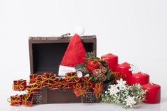 ` S för nytt år och julgarnering Arkivbild