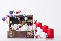 ` S för nytt år och julgarnering Royaltyfri Bild