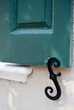 S för stänger med fönsterluckor Royaltyfria Foton