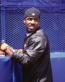 S f Giants-Außenfeldspieler Barry Bonds stockbild