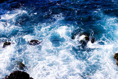 s fale oceanu Obraz Royalty Free