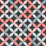 Trendy pattern design. 1960s fashion design pattern - seamless texture vector illustration Stock Image