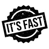 It s Fast rubber stamp Royalty Free Stock Photography