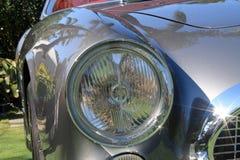 1950s ferrari 250 tdf front headlamp detail Stock Images