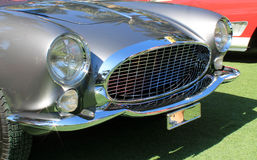 1950s ferrari 250 tdf headlamps and grill Stock Images