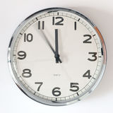 It`s five minutes to twelve Royalty Free Stock Photography