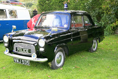 1950s Ford 100E Police car. Stock Image