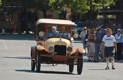 1920's Ford Model T touring car on parade Stock Photos
