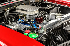 1960's Ford Mustang. Classic 1960's red Ford Mustang Royalty Free Stock Images