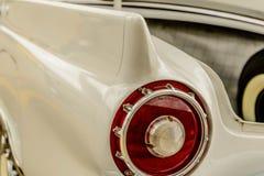 1950's Ford Thunderbird. Antique 1950s white Ford Thunderbird Royalty Free Stock Image