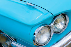 1960's Ford Thunderbird headlights Royalty Free Stock Photography