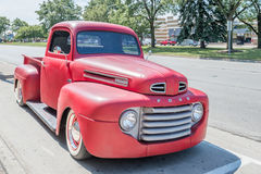 1940s Ford truck at the Woodward Dream Cruise Royalty Free Stock Photos