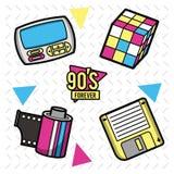 90s forever design. Icon vector illustration graphic design vector illustration