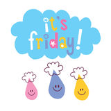 It's friday Royalty Free Stock Image