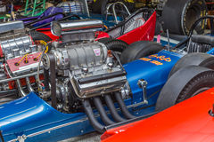 1960s Fuel Dragsters Stock Image