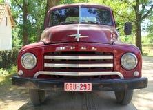 1950s furgonetka - Opel Blitz 1 75T - frontowy widok Zdjęcie Royalty Free