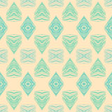 1930s geometric art deco pattern Royalty Free Stock Photos