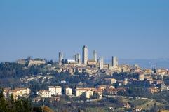 S.Gimignano, Italien Stockbild