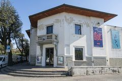S Giorgio Theater in Udine royalty-vrije stock afbeelding