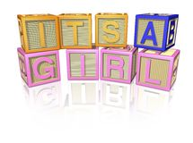 It's a Girl Stock Photography