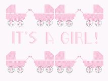It's a girl Royalty Free Stock Photo