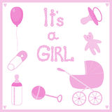 It's a girl Royalty Free Stock Image