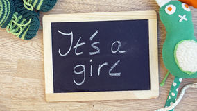 It's a girl Stock Image