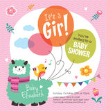 It's a Girl! Baby Shower Stock Images