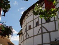 s globu Shakespeare teatr Obraz Royalty Free