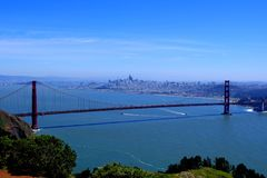 ` S golden gate bridge de San Francisco Imagem de Stock Royalty Free
