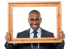 It's a good portrait picture for me Stock Photos