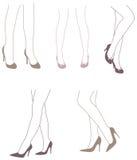 She's Got Legs Royalty Free Stock Photo