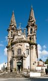 S.Gualter Church in Guimaraes Stock Photos