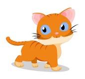 Så gullig katt Arkivfoton