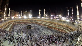 It´s hajj time stock video