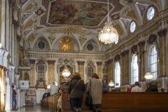 ` S Hall Church del ciudadano en Munich, Alemania, 2015 Imagen de archivo