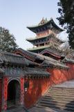 ` S Henans, China berühmte Touristenattraktion, Shaolin Temple, Songshan Lizenzfreie Stockfotografie