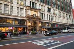` S Herald Square NYC de Macy Foto de archivo