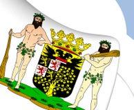 ` s-Hertogenbosch Wappen, die Niederlande Lizenzfreie Stockfotos